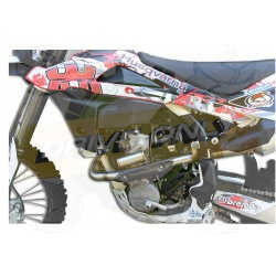 Collecteur + Pipebomb sport Dominator : Husqvarna TXC 310 R