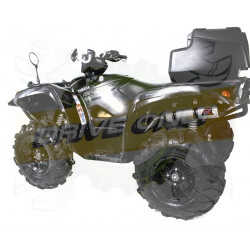 Silencieux sport Dominator : Grizzly MY 700 2016 - 201x