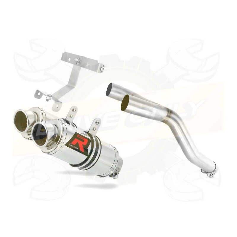 Silencieux sport Dominator : FZ6 600 N / Fazer S1 & S2 2004 - 2014