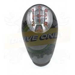Pommeau de vitesse  Sport aluminium Renault 5 Vitesses Rouge