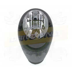 Pommeau de vitesse  Sport aluminium Renault 6 Vitesses