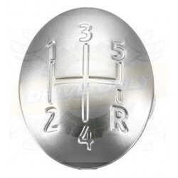 Capsule Pommeau de vitesse 2 Sport aluminium Renault 5 Vitesses