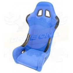 Siège Baquet DriveOnly Simili Cuir & Cuir Bleu