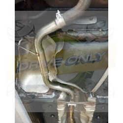 Intermédiaire Sport inox / Suppresseur Silencieux Intermédaire  DriveOnly Audi S3 8P 2004 - 2012