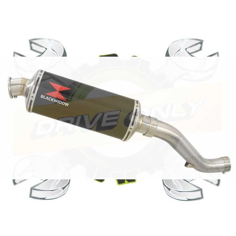 VFR1200F / VFR 1200 2010-2016  Exhaust tube de raccord et Ovale En Carbone Silencieux 300mm