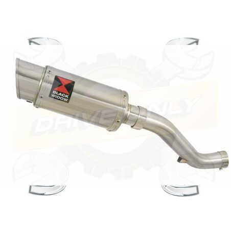 VFR1200F / VFR 1200 2010-2016 Tube de raccord et Silencieux Rond GP Style En Inox 230mm