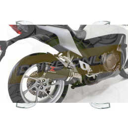 VFR1200F / VFR 1200 2010-2016  Exhaust tube de raccord et Hexagonale En Carbone Silencieux + Carbon Tip 300mm