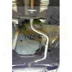 Intermédiaire direct  Sport  Inox DriveOnly Audi A3 8P 2.0 Tfsi 2003 - 2012
