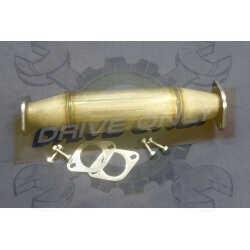 Décatalyseur  Sport  Inox DriveOnly  Mitsubishi L200 2.5 Diesel 4X4 2001 - 2007