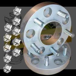 Elargisseurs de voies Light Aluminium 20mm Opel  5x115