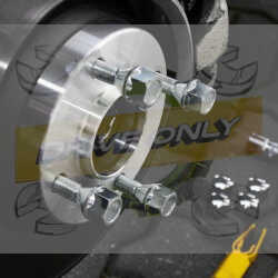 Elargisseurs de voies Light Aluminium 13mm Volkswagen 5X112