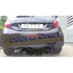 Silencieux Ulter Sport 121-319 / 28 PEUGEOT 208 2012-201x 1.6 HDI
