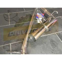 Ligne d'échappement Direct DriveOnly Mini Cooper S R52 / R53 / JCW  2002 - 2006