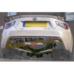 Ligne d'échappement Direct DriveOnly Toyota GT86 2013 - 201x