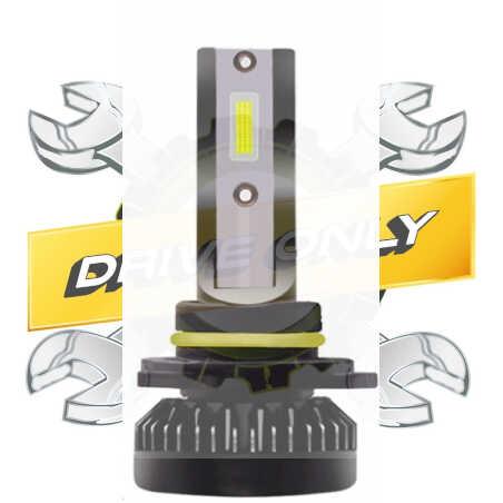 Mini-Ampoule à Led Cree H4 40w (Croisement + Plein Phare)