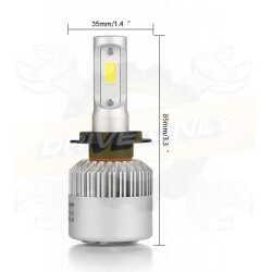 Pack de 2 ampoules Led Cree 40w Led Hb5 / 9007