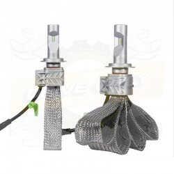 Pack de 2 ampoules Led Cob 40w Led H1
