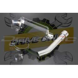 Échappement Ovale en Fibre Carbone 225mm DS70 Pour RSV Mille R 1999 - 2003