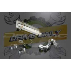 Échappement Rond en Acier Inoxydable 200mm Mini Pour RSV 4 R 2010 - 2011