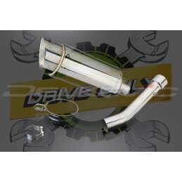 chappement Rond en Acier Inoxydable 200mm Mini Pour TUONO FACTORY 1000  2004 - 2010