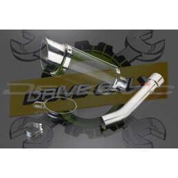 Échappement Rond en Fibre Carbone 200mm Mini Pour TUONO FACTORY 1000 2004 - 2010