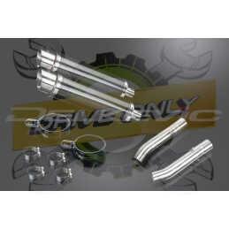 Échappement Rond en Fibre Carbone 350mm DL10 Pour RSV 1000 R FACTORY 2003 - 2010