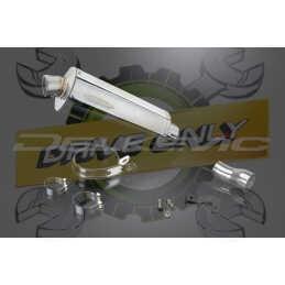 Échappement Ovale en Acier Inoxydable 350mm Stubby Pour S1000RR 2010 - 2014