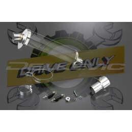 Échappement Ovale en Fibre Carbone 350mm Stubby Pour HP4 2013 - 2015