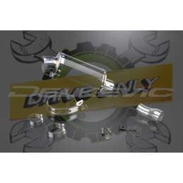 Échappement Ovale en Fibre Carbone 225mm DS70 Pour S1000RR 2010 - 2014