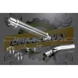 Échappement Rond en Fibre Carbone 350mm DL10 Pour R1200R 2005 - 2010