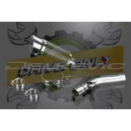 Échappement Rond en Fibre Carbone 200mm Mini Pour R1200R 2005 - 2010