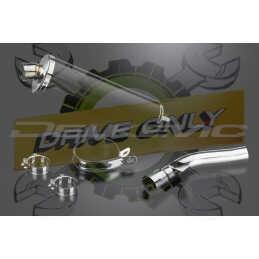 Échappement Ovale en Fibre Carbone 450mm Pour R1200R  2005 - 2010