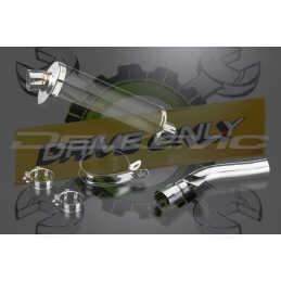Échappement Ovale en Fibre Carbone 350mm Stubby Pour R1200R  2005 - 2010