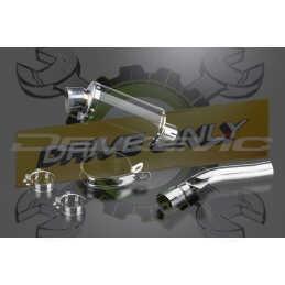 Échappement Ovale en Fibre Carbone 225mm DS70 Pour R1200R  2005 - 2010
