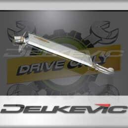 BMW F800S F800ST 2006-2014 420MM TRIOVALE INOX SILENCIEUX POT ECHAPPEMENT