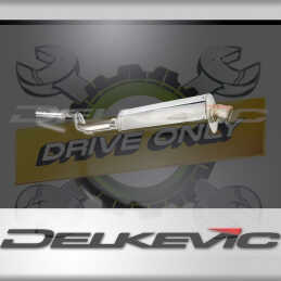 BMW R1100 R1150RS 1993-2005 ECHAPPEMENT SILENCIEUX 350MM OVALE INOX