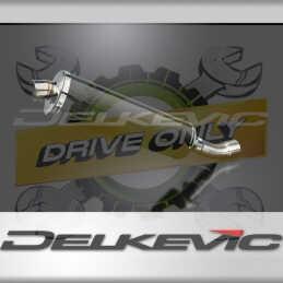DUCATI DIAVEL 2011-2018 ECHAPPEMENT SILENCIEUX 450MM OVALE CARBONE
