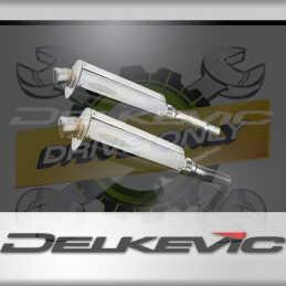 DUCATI MONSTER 620-695-800 02-08 ECHAPPEMENT SILENCIEUX 350MM OVALE INOX