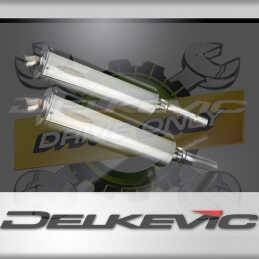 DUCATI MONSTER 620-695-800 02-08 ECHAPPEMENT SILENCIEUX 450MM OVALE INOX