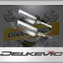 DUCATI MONSTER 620-695-800 02-08 ECHAPPEMENT SILENCIEUX 260MM X-OVALE TITANE