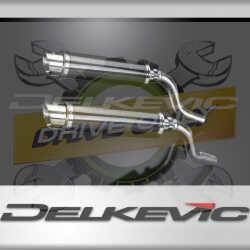 KAWASAKI Z1000SX 2010-18 TOURER ECHAPPEMENT SILENCIEUX 350MM DL10 ROND Carbon