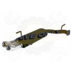Silencieux Ulter Sport 120-212/13-1 OPEL Vectra B Phase 1 1.6i / 1.8i / 2.0i / 2.5 V6 / 2.6 V6 OPC 1994 - 1999