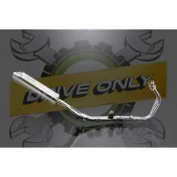 HONDA CBR500R CB500F-X 13-16 ECHAPPEMENT COMPLET 320MM INOX TRI-OVALE