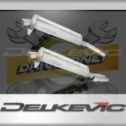 HONDA CB900F HORNET 2001-2009 ECHAPPEMENT SILENCIEUX 350MM OVALE INOX