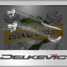 HONDA CBF1000 GT ABS 2006-2011 ECHAPPEMENT SILENCIEUX 450MM OVALE CARBONE