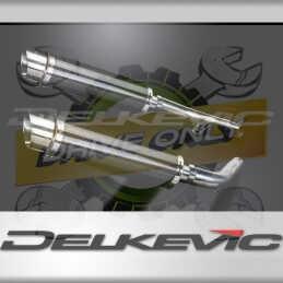 HONDA CBF1000 GT ABS 2006-2011 ECHAPPEMENT SILENCIEUX 350MM ROND CARBONE