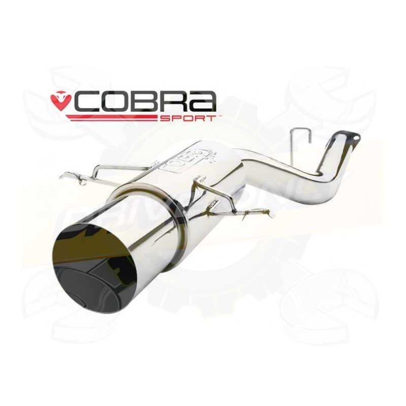 Arrière Silencieux Échappement-SU61 06-07 Cobra sport IMPREZA 1.6//2.0 NON-Turbo