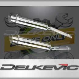 HONDA CBR1100XX BLACKBIRD 96-09 ECHAPPEMENT SILENCIEUX 350MM ROND INOX