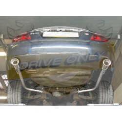 Silencieux direct  Sport  Inox DriveOnly  Jaguar S Type 4.0 V8 1998 - 2002