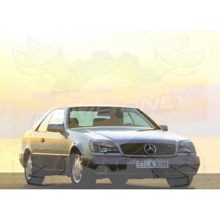 Ampoules Xénon de remplacement pour Mercedes Classe S C140, 1992-1996